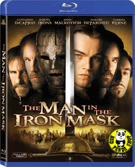 The Man In The Iron Mask Blu-Ray (1998) (Region A) (Hong Kong Version)