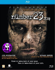 The Number 23 Blu-Ray (2007) (Region A) (Hong Kong Version)