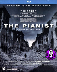 The Pianist Blu-Ray (2002) (Region A) (Hong Kong Version)