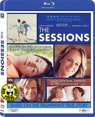The Sessions Blu-Ray (2012) (Region A) (Hong Kong Version)