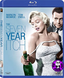 The Seven Year Itch Blu-Ray (1955) (Region A) (Hong Kong Version)