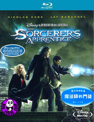 The Sorcerer's Apprentice Blu-Ray (2010) (Region Free) (Hong Kong Version)