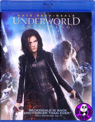 Underworld Awakening Blu-Ray (2012) (Region Free) (Hong Kong Version)