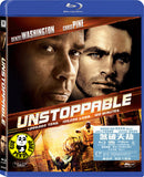 Unstoppable Blu-Ray (2010) (Region A) (Hong Kong Version)