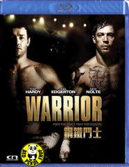 Warrior Blu-Ray (2011) (Region A) (Hong Kong Version)
