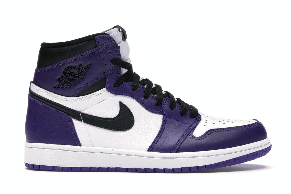 Jordan 1 Retro High Court Purple White