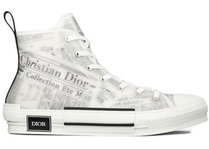 Dior B23 High Top Daniel Asham Newspaper