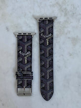 Load image into Gallery viewer, Goyard Black Apple Watch band