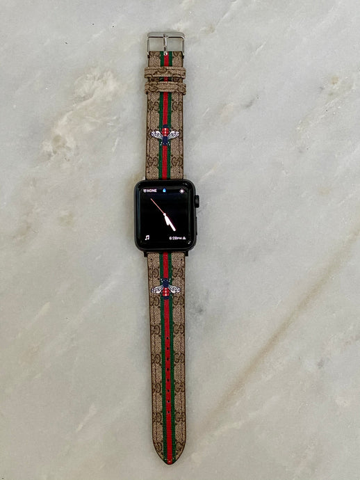 OG Gucci Bee Apple Watch band