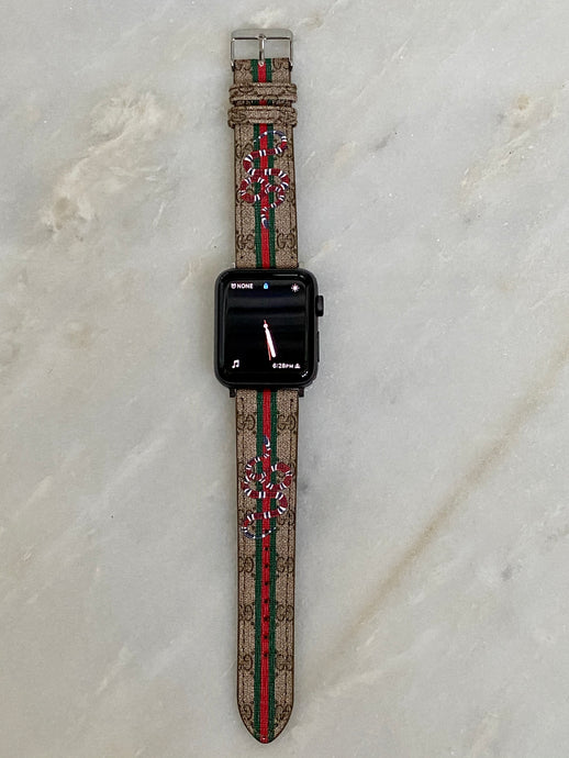 OG Gucci Snake Apple Watch band