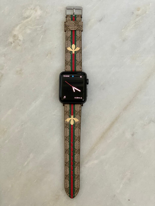 OG Gucci gold bee Apple Watch band