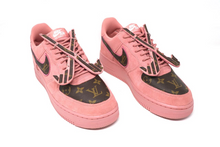 Load image into Gallery viewer, LV Pink Fly Away custom AF-1