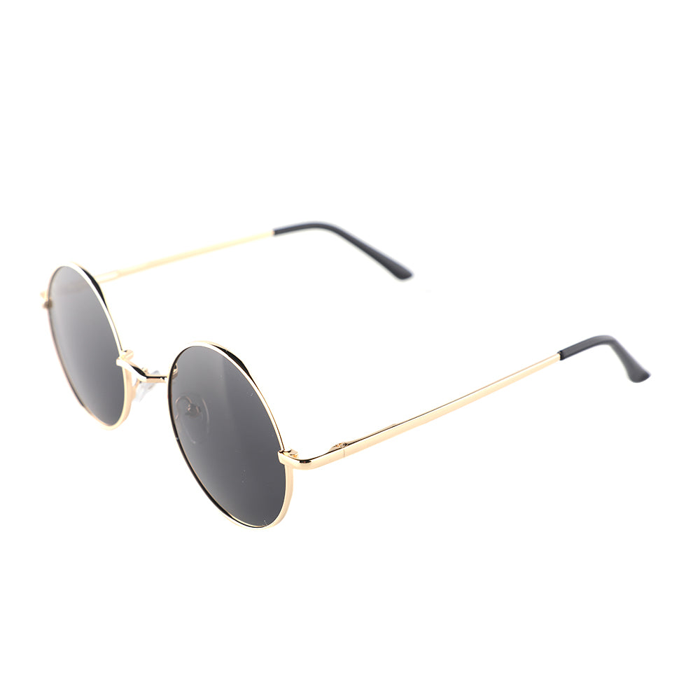 Black and Gold Round Classic Specs