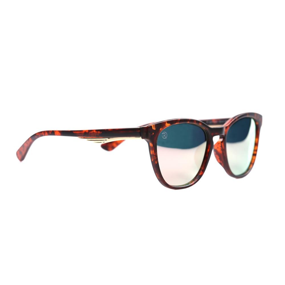 Brown and Pink Sleek Wayfarer Specs