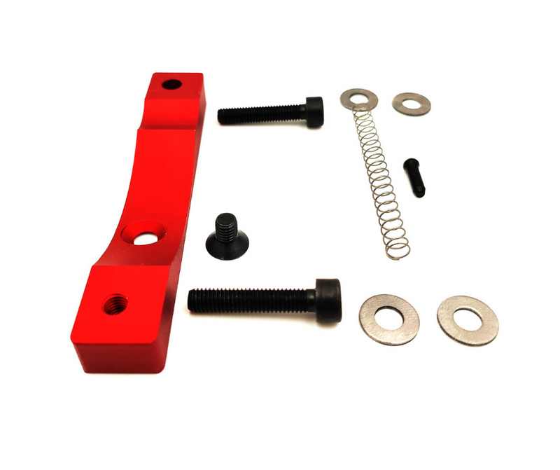 Kit Support alu xtech Xiaomi m365 et pro rouge