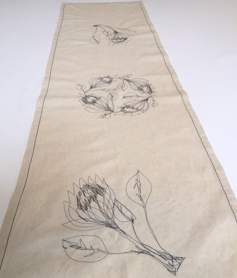 HEMP Protea Table runner