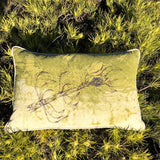 SALE Cushion Cover Chartreuse Leuca