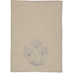 Fennel Flower Tea Towel / Hand Towel