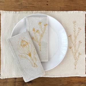 Cotton FYNBOS Placemats (set of 2)