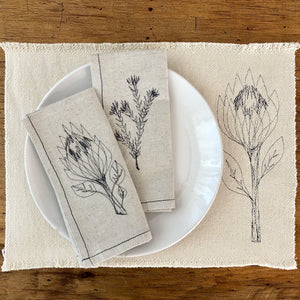 Cotton PROTEA Placemats (set of 2)