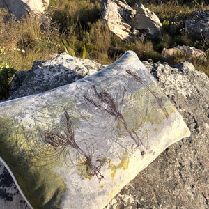 SALE Cushion Cover Leuca's in a storm