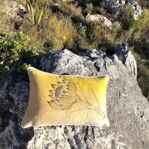 SALE Cushion Cover Protea
