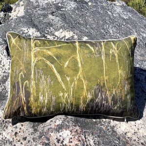 Reeds Cushion Cover (Printed)