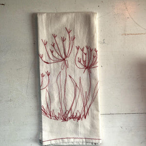 SALE Tea Towel / Hand Towel Fennel Flower (COTTON)