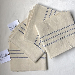 SALE Tea Towel / Hand Towel Stripe (HEMP)