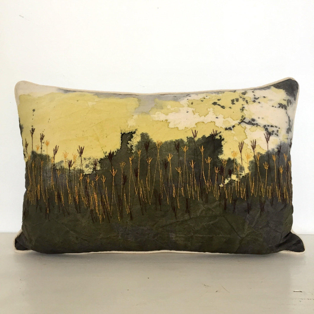 Dawn Wetlands Cushion Cover