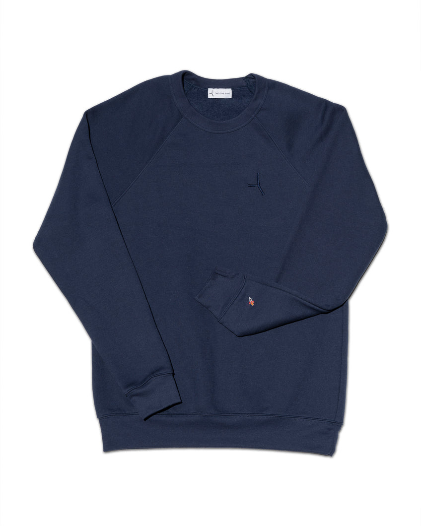 The Liftoff sweatshirt - Deep blue