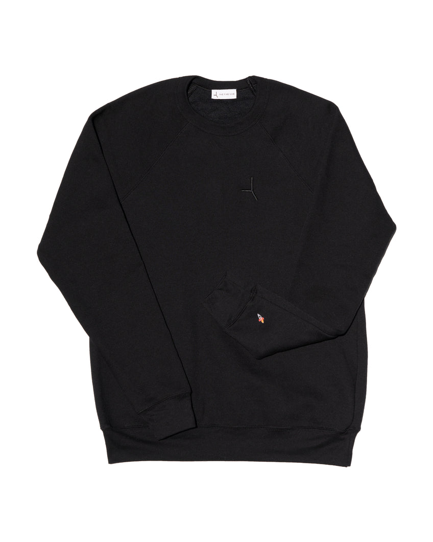 The Liftoff sweatshirt - Straight black