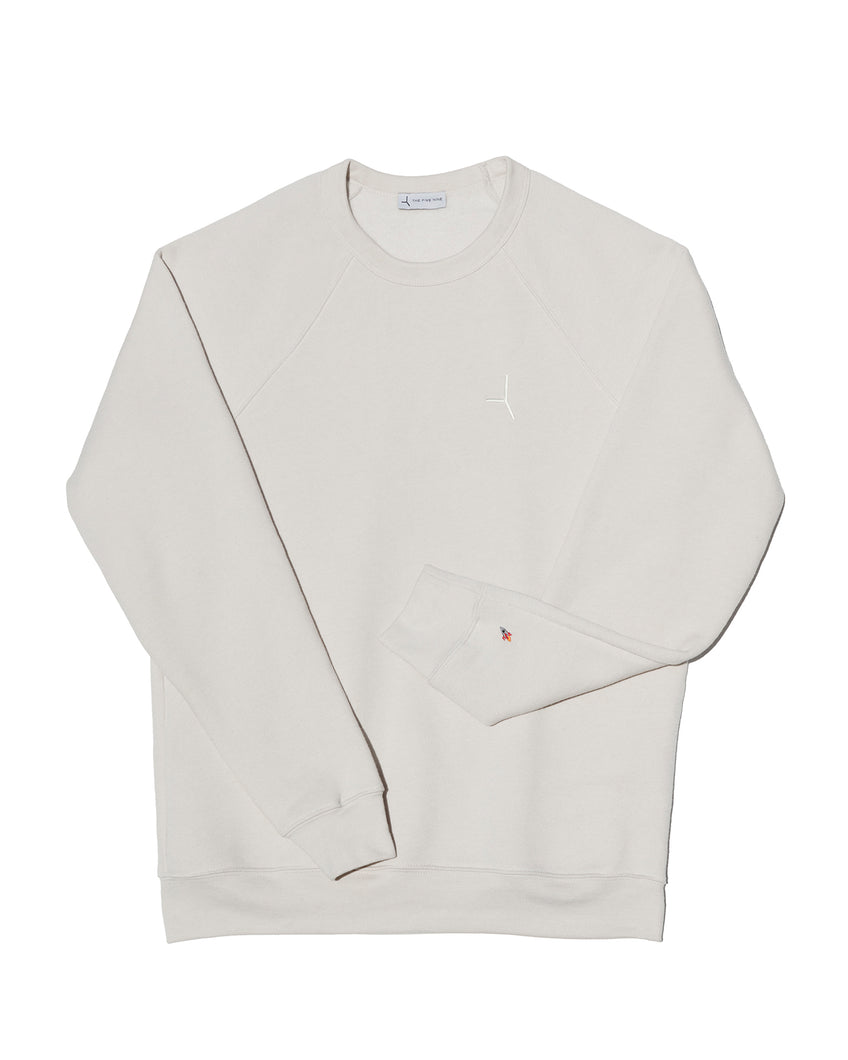 The Liftoff sweatshirt - Dusty white