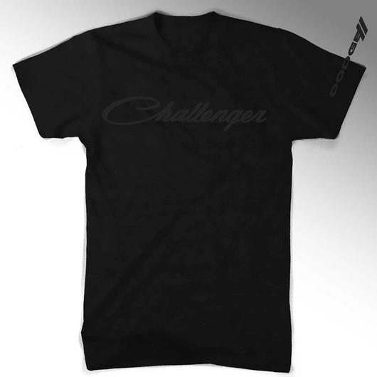 CHALLENGER BLACKOUT T-SHIRT