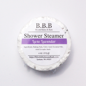 Load image into Gallery viewer, Luxe Lavender Shower Steamer