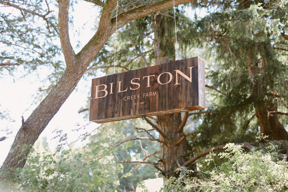 Bilston Creek Farm Sign