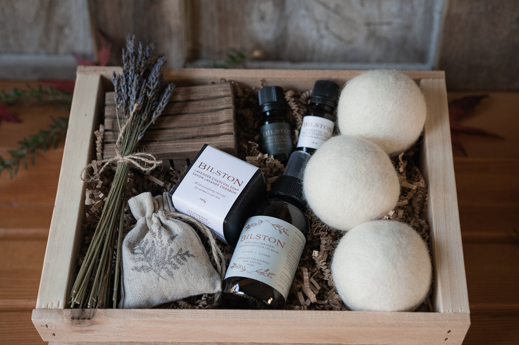natural cleaning gift basket