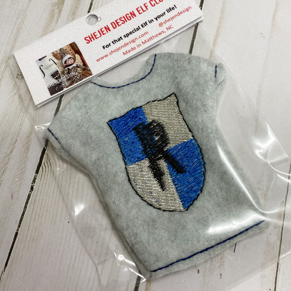 Wizard school sweater blue