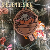 Baby Yuda Ornament