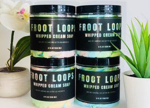 From Loops Whipped Soap (8oz)
