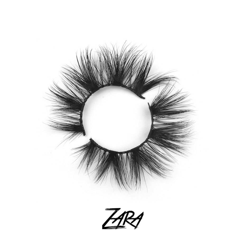 "THE ""ZARA"" LASH- Lashed Forever's Newest Addition to the 3D Mink Collection"