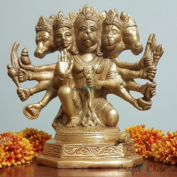 Lord Hanuman Idol - Decorative Home Decor-Crafts N Chisel India - Indian home decor - India
