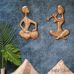 Musician Wall Decor-Crafts N Chisel India - Indian home decor - India