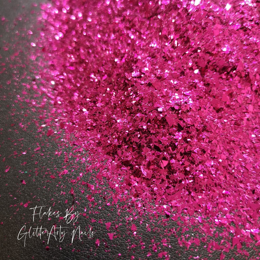 METALLIC HOT PINK SHARDS ** 5G BAG **