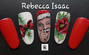 Rebecca Isaac...FULL COVER Traditional Christmas-One stroke