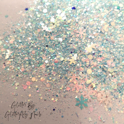 CHRISTMAS NAIL GLITTER - CHILLY WILLY ** 5G