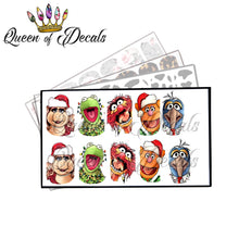 Load image into Gallery viewer, XMAS MUPPETS Collaboration decal