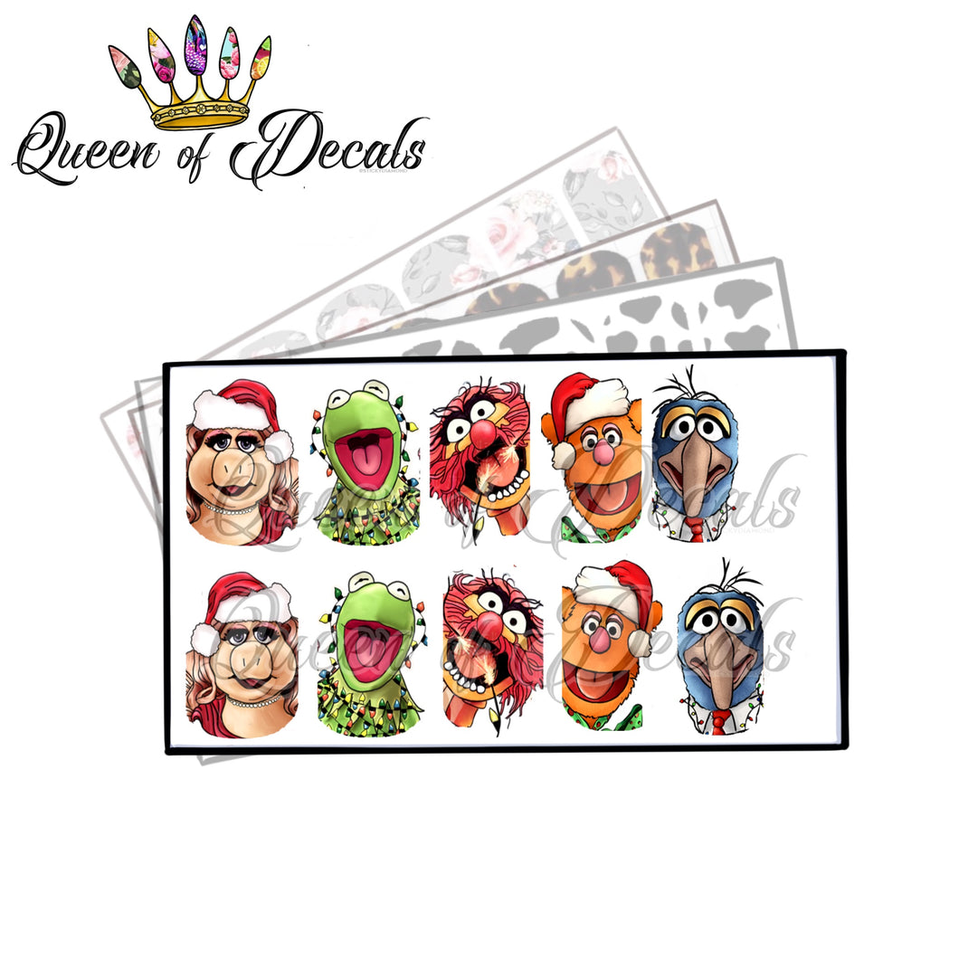 XMAS MUPPETS Collaboration decal