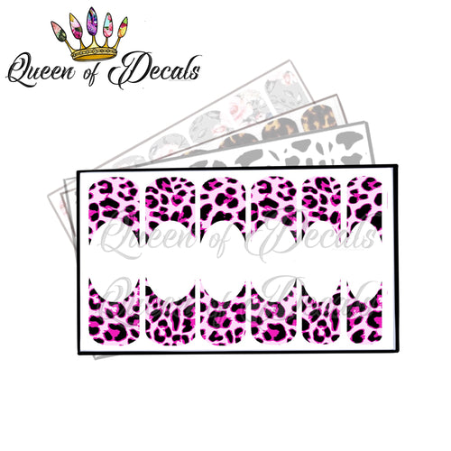 Pinky leopard print French