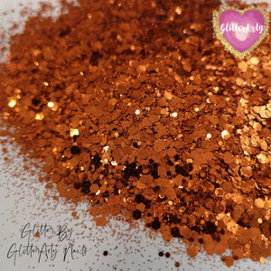 MEGA MIX METALLIC BURNT ORANGE **5G BAG
